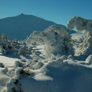turystyka górska zimą